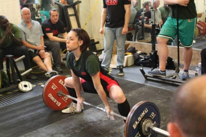 Tiffany Annan - 122.5kg deadlift
