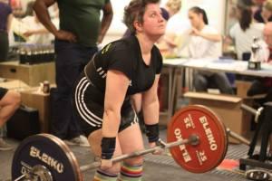 Laura Porter - 117.5kg deadlift